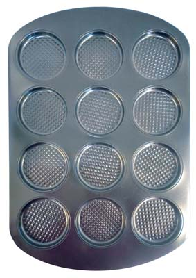 View COOKIE PAN 12 CAVITY 11 X 16.5 X .5 INCHES