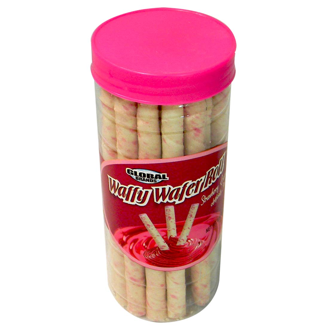 View GLOBAL WAFER ROLL 5.68 OZ STRAWBERRY CREAM