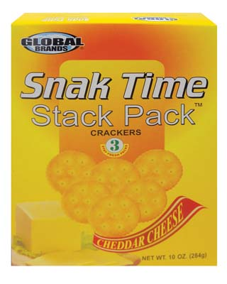View GLOBAL CRACKERS 10 OUNCE CHEDDAR CHEESE