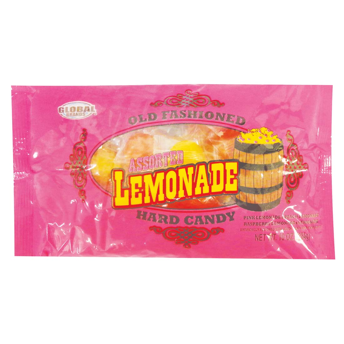 View GLOBAL HARD CANDY 10 OUNCE ASSORTED LEMONADE FLAVORS