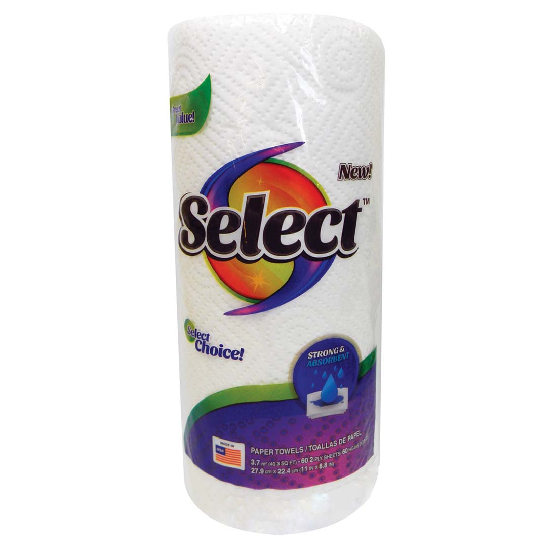 View SELECT PAPER TOWEL 60-2 PLY SHEETS