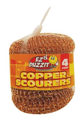 View COPPER SCOURER 4 PACK 15 GRAMS IN NET BAG