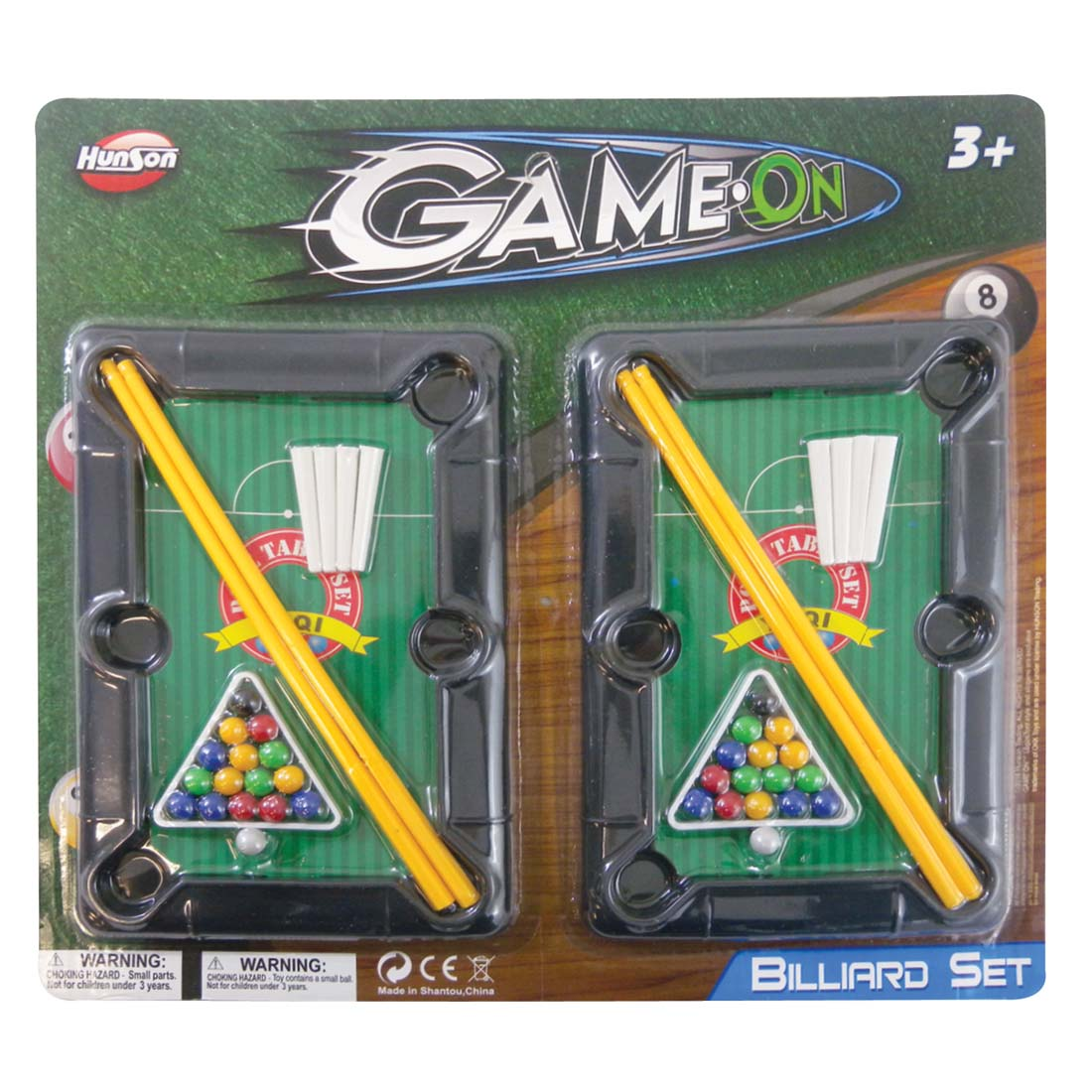View BILLIARD PLAY SET 7.25X5 INCHES