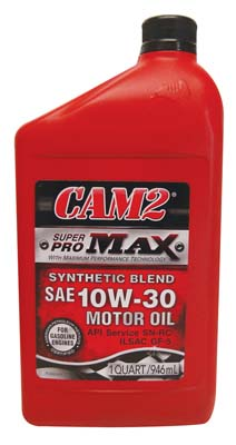 View CAM2 MOTOR OIL 1 QT 10W-30 SUPER PRO MAX *USA*