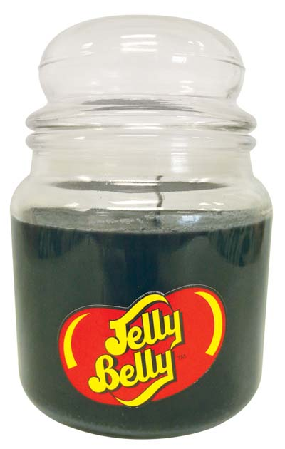 View JELLY BELLY CANDLE 14 OZ LICORICE AIRTIGHT JAR