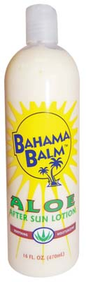 View BAHAMA BALM AFTER SUN LOTION 16 OZ ALOE