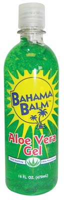 View BAHAMA BALM AFTER SUN GEL 16 OZ ALOE VERA