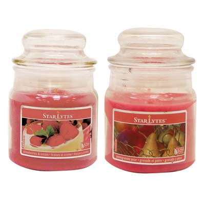 View CANDLE 3 OUNCE ASSORTED DARK PINK ** MADE IN USA **