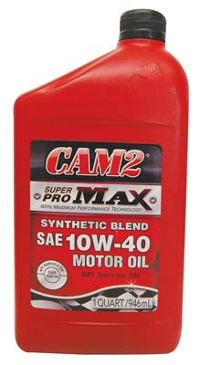 View CAM2 MOTOR OIL 1 QT 10W-40 SUPER PRO MAX *USA*