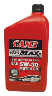 View CAM2 MOTOR OIL 1 QT 5W-30 SUPER PRO MAX *USA*