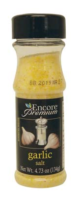 View ENCORE PREMIUM GARLIC SALT 4.73 OZ