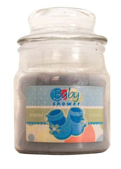 View CANDLE 3 OUNCE BABY SHOWER BLUE ** MADE IN USA **