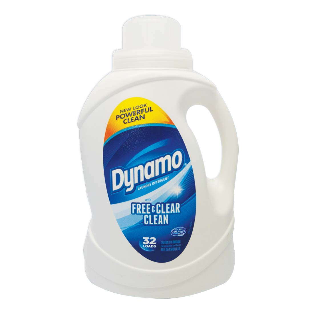 View DYNAMO LIQUID LAUNDRY DETERGENT 50 OUNCE 32 LOADS FREE AND CLEAR CLEAN