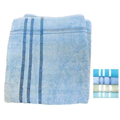 View BATH TOWEL 27 X 52 INCH 100 % COTTON ASSORTED SOLID COLORS 400 GRAMS
