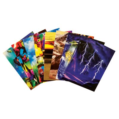 View BOOK SOX FILE FOLDER 2 POCKET WITH BINDER HOLES ASSORTED DESIGNS