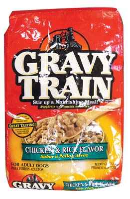 View GRAVY TRAIN DRY DOG FOOD 14 LB HEARTY CLASSIC CHICKEN & RICE