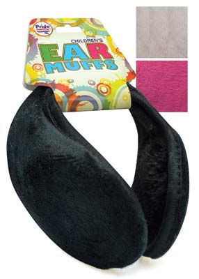 View KIDS EAR MUFF ASSORTED COLORS
