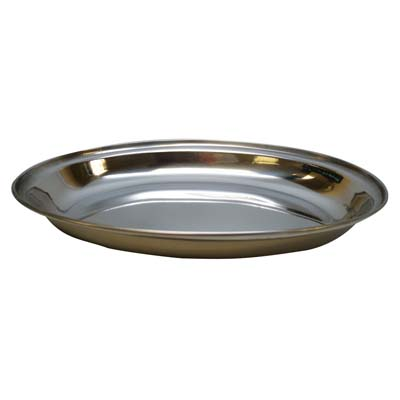 View CURRY DISH 10 INCH OVAL STAINLESS STEEL