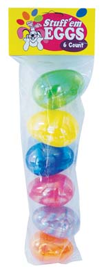 View EASTER EGG 6 PC 3 INCH ASSORTED PEARL COLORS