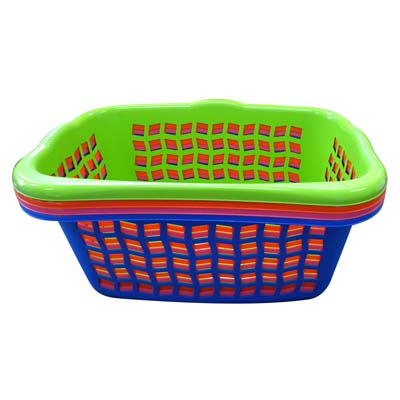 View LAUNDRY BASKET 25 X 18 X 10 INCH RECTANGULAR