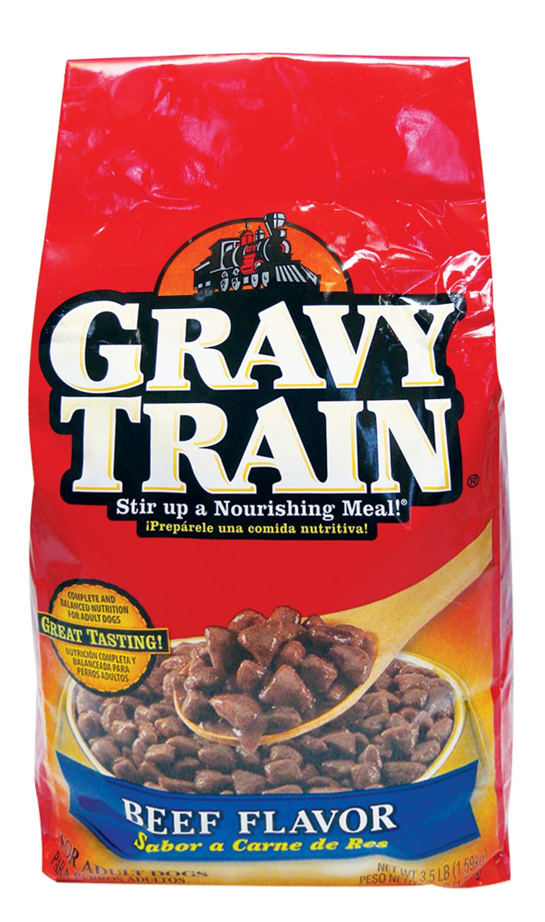 View GRAVY TRAIN DRY DOG FOOD 3.5 LBS BEEF FLAVOR