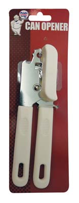 View CAN OPENER 8 INCH GOOD QUALITY BLACK & WHITE COLORS