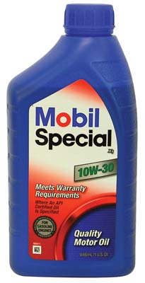"View MOBIL SPECIAL MOTOR OIL QUART 10W-30  ""MADE IN USA"""