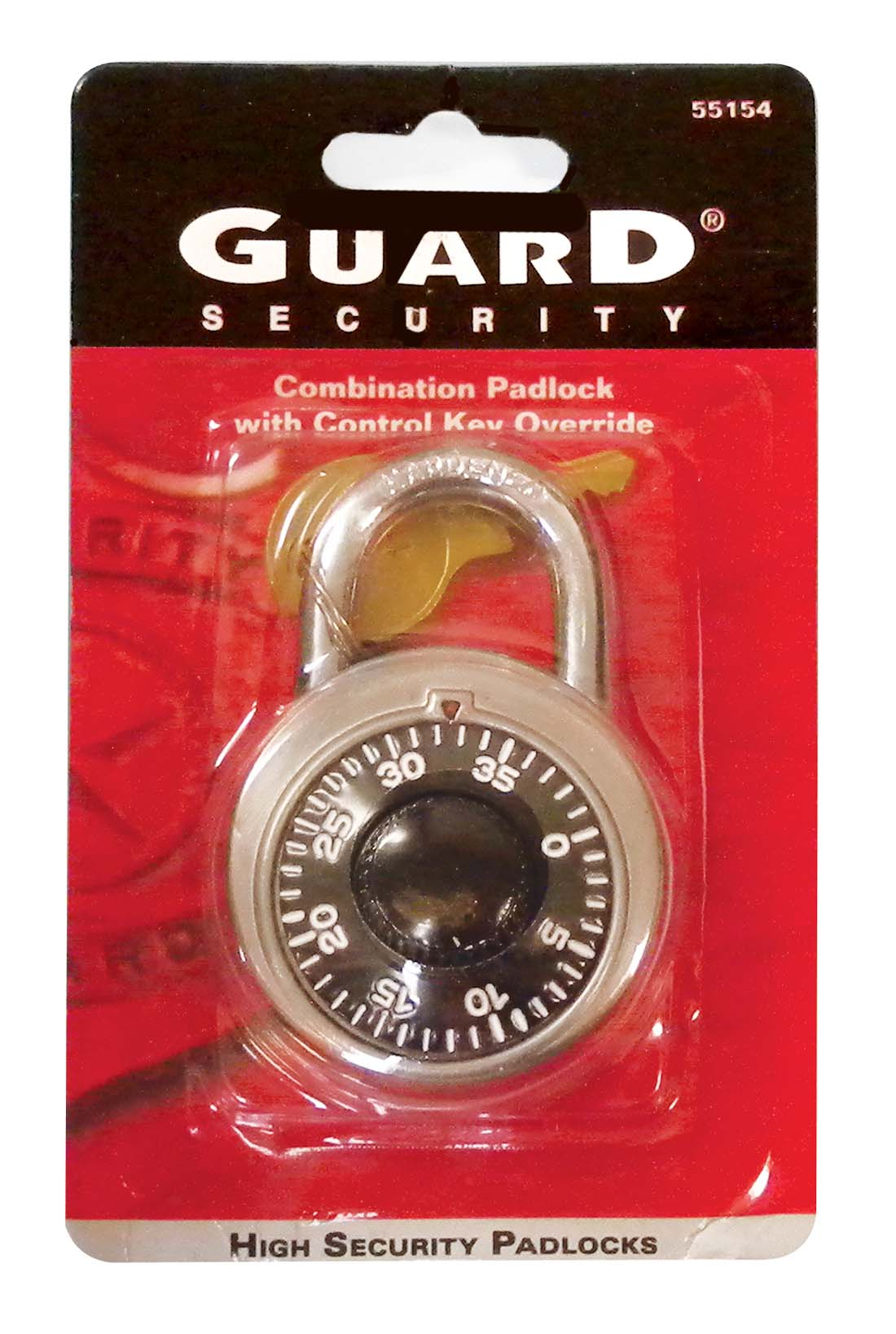 View COMBINATION PAD LOCK WITH KEY