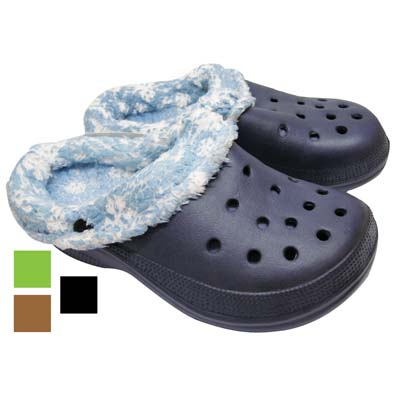 View BOY' S FUR CLOGS ASSORTED SIZES ASSORTED PRINTED DESIGNS & COLORS