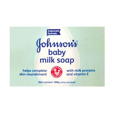 View JOHNSON'S BABY SOAP MILK 100 GRAM