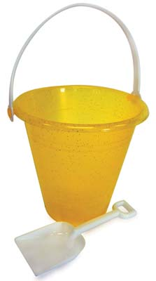 View BEACH PAIL 6.75  X 7 INCH WITH SHOVEL