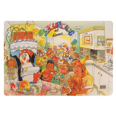 View CHILDREN'S ACTIVITY PLACEMAT 12 X 17 INCH DRY ERASE HOME DESIGN