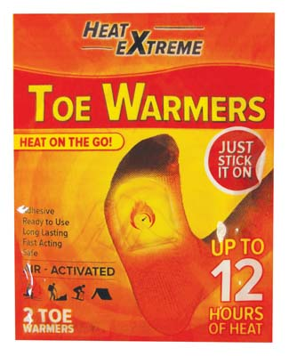 View TOE WARMER 2 PACK AIR ACTIVATED LASTS UP TO 12 HOURS