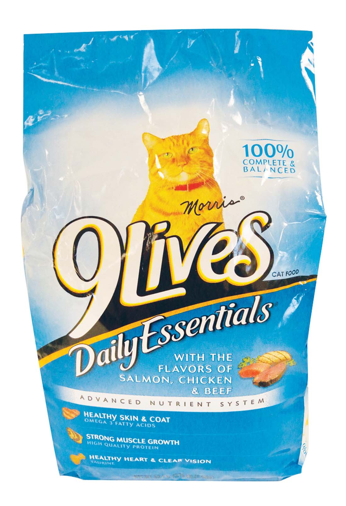 View 9 LIVES DRY CAT FOOD 3.15 LB DAILY ESSENTIALS