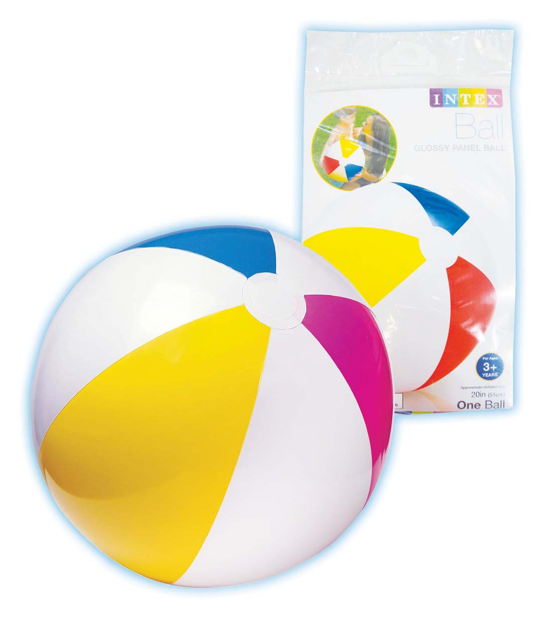 View BEACH BALL INFLATABLE 20""