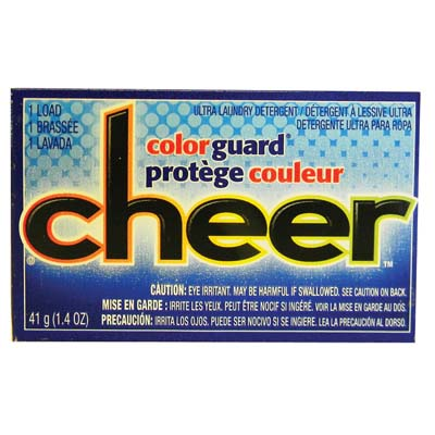 View CHEER POWDER LAUNDRY DETERGENT 1.4 OZ COLOR GUARD **MADE IN USA**