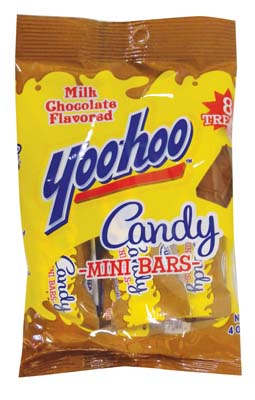 View YOO HOO MILK CHOCOLATE CANDY 8 CT 4 OZ MINI BARS **MADE IS USA**