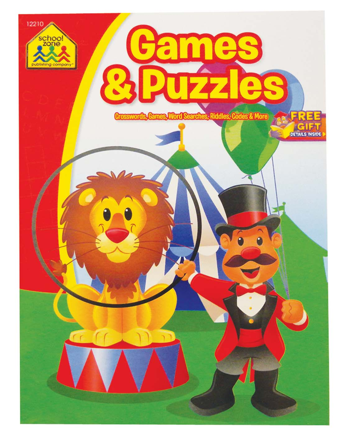 View ACTIVITY BOOK 96 PG GAMES AND PUZZLES
