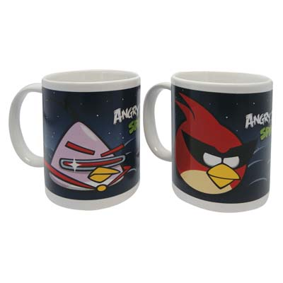View ANGRY BIRD CERAMIC MUG 11 OUNCE ASSORTED DESIGNS