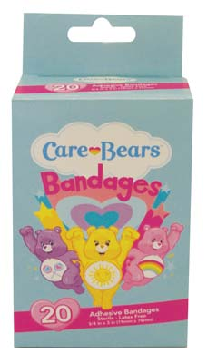 "View CARE BEARS BANDAGES 20 COUNT ""EXP 7/30/2017"""