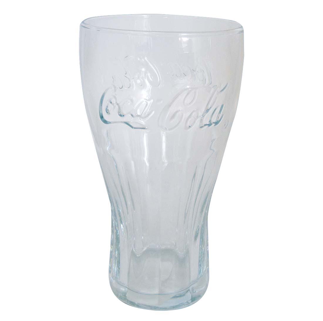 View COCA-COLA GLASS TUMBER 16 OZ CONTOURED