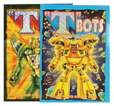 View TBOTS FOIL COLOR & ACTIVITY BOOK 96 PAGE ASSORTED VOLUMES