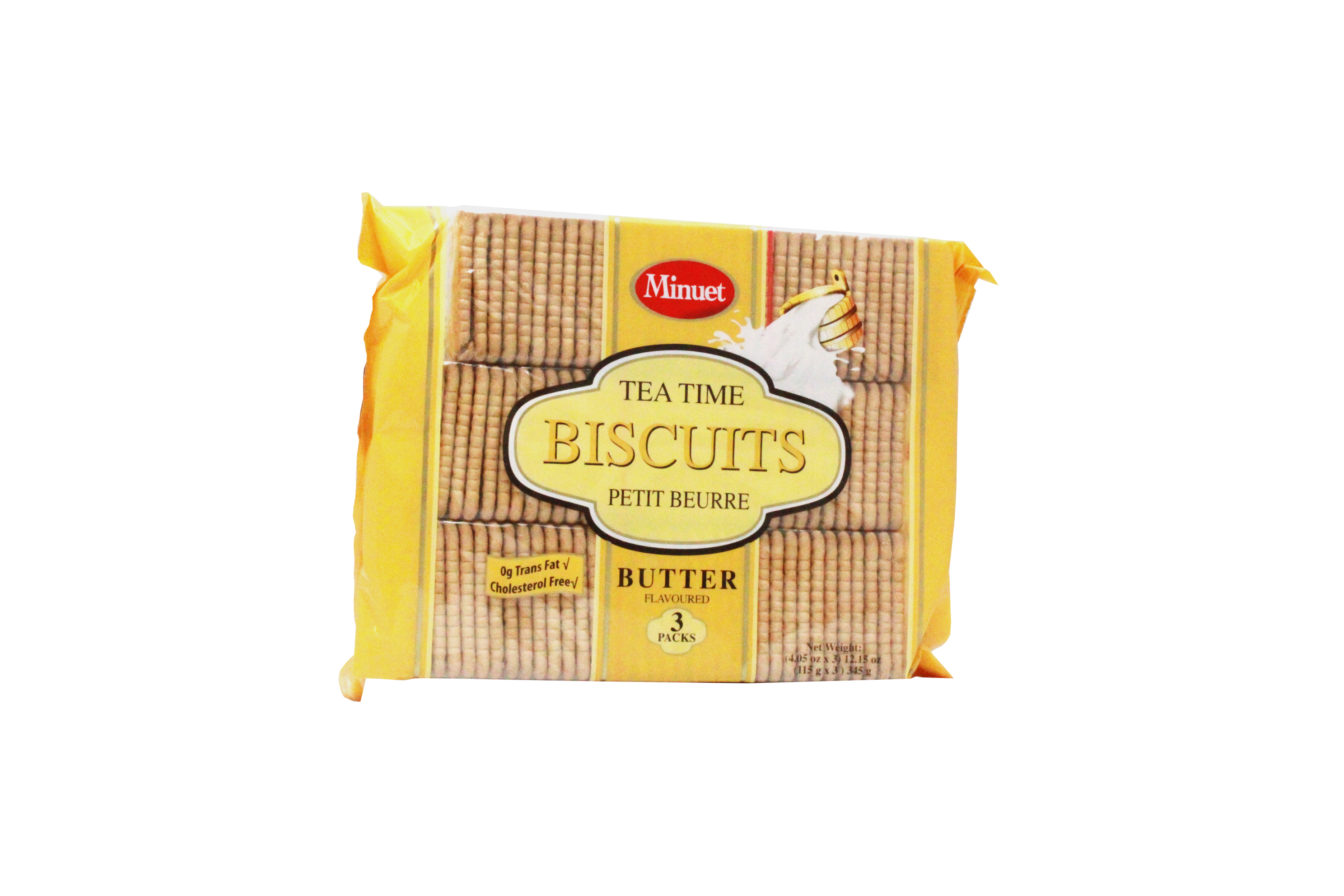 View MINUET TEA BISCUITS 3 PACK 12.15 OZ BUTTER