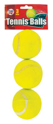 View TENNIS BALLS 3 PACK