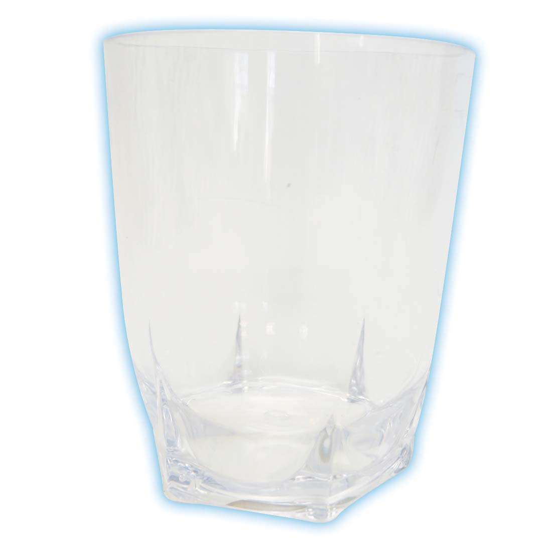 View DRINKING GLASS 15 OZ CRYSTAL PLASTIC