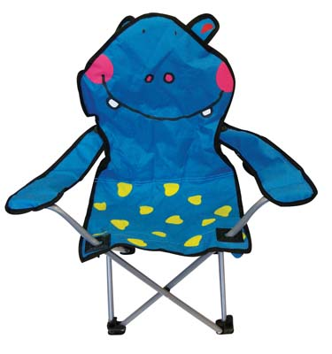 View KIDS CAMPING CHAIR 14 X 14 X 26 INCH HIPPO DESIGN