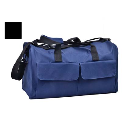 View DUFFLE BAG 18 X 11 X 9 INCH WITH SHOULDER STRAP ASSORTED COLORS