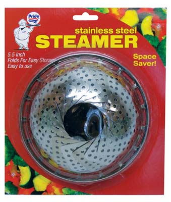 View PRIDE STEAMER ROUND 5.5 INCH STAINLESS STEEL