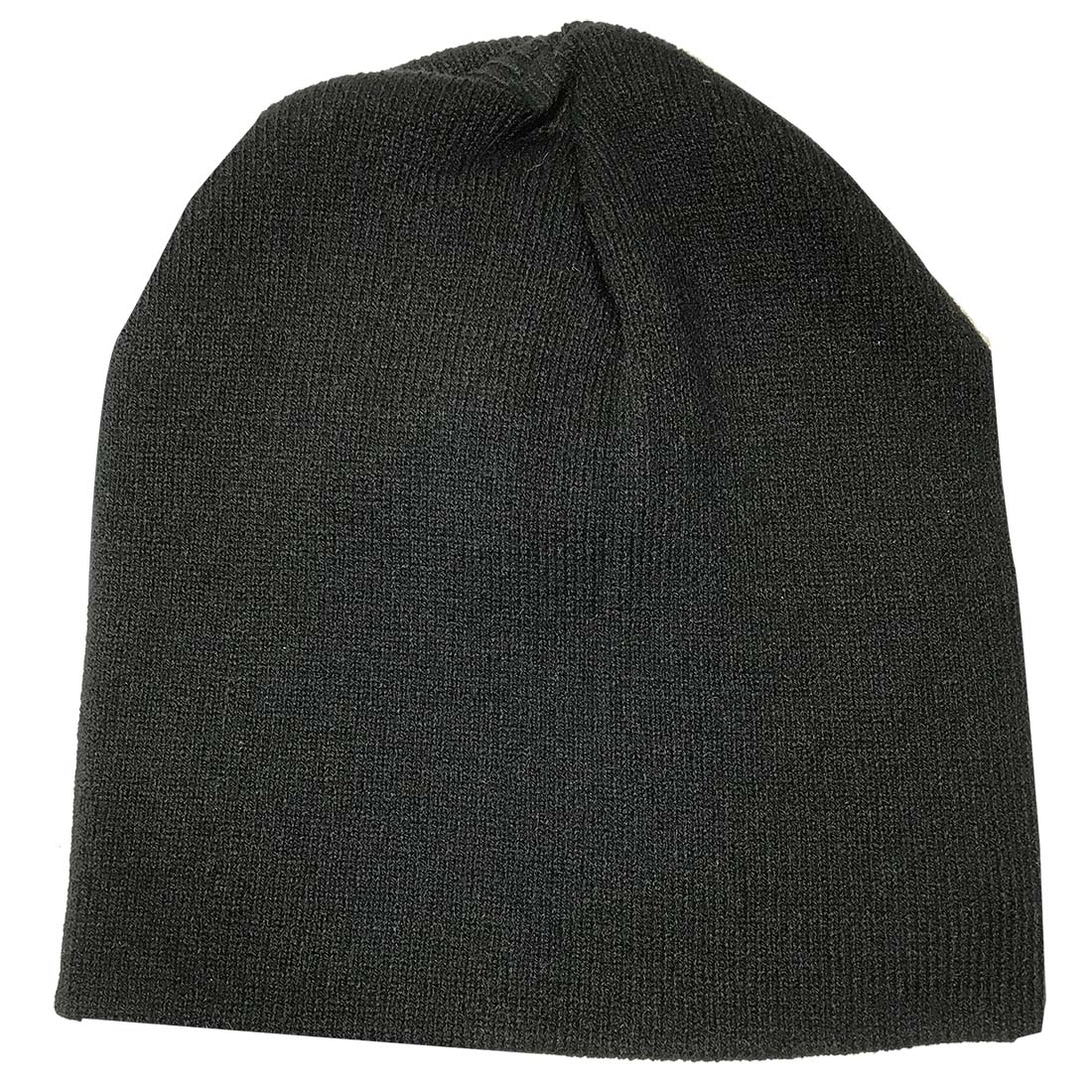 View BLACK KNIT HAT UNISEX ONE SIZE FITS ALL