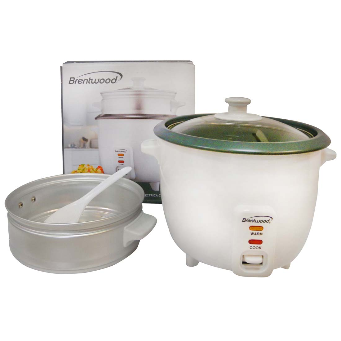 View BRENTWOOD RICE COOKER&STEAMER 1.0 LITER UL LISTED